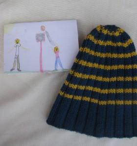 Enjoyaball Hat and card