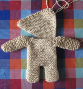 Pippa Bear #2 - cast on