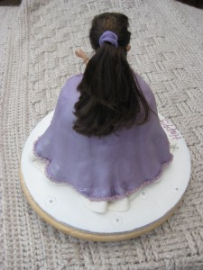 Cake from behind