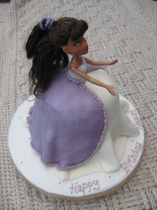 Megan's princess cake