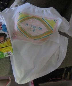 Megan's t-shirt
