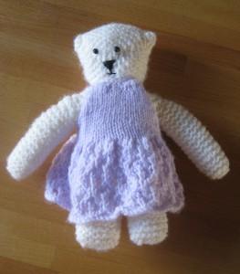 Megan's bear - minus accessories