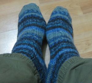 Alpha socks - done!