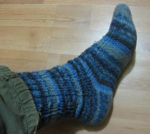 Alpha Socks - side view