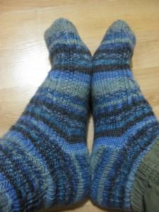 Alpha Socks - nice and cosy