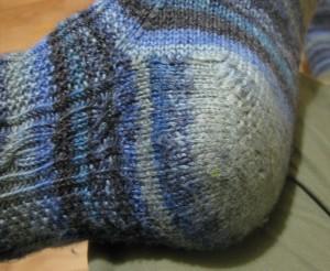 Alpha Socks - heel flap