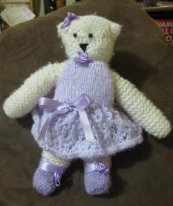 Ballet Bear for Megan - complete